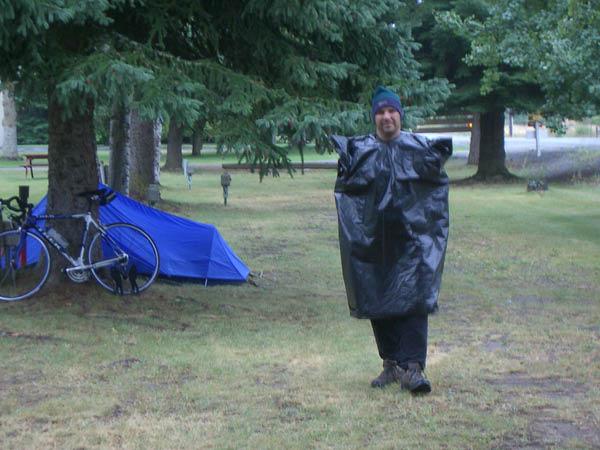 Dan's rain gear