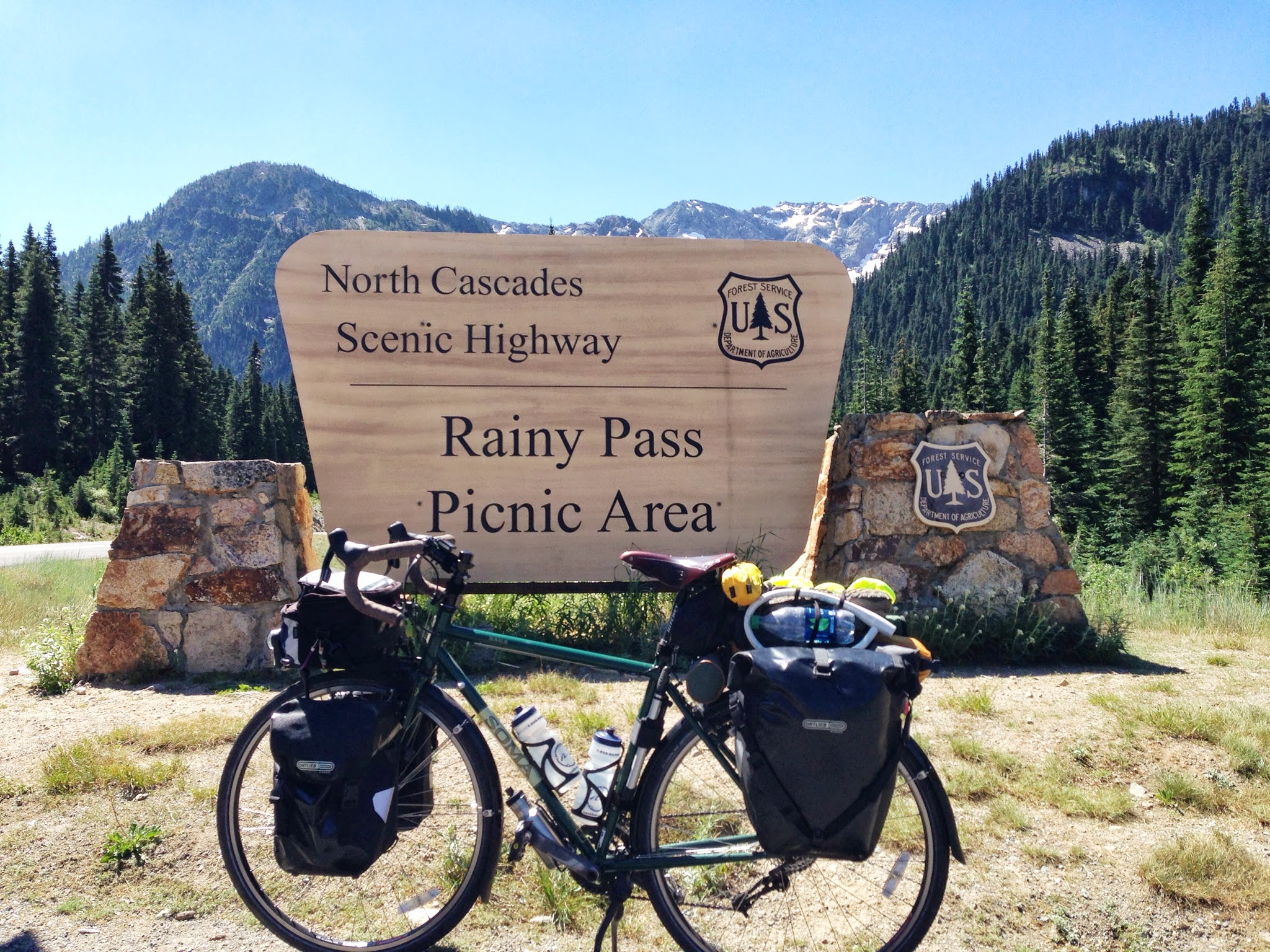 Soma Saga on North Cascades Highway