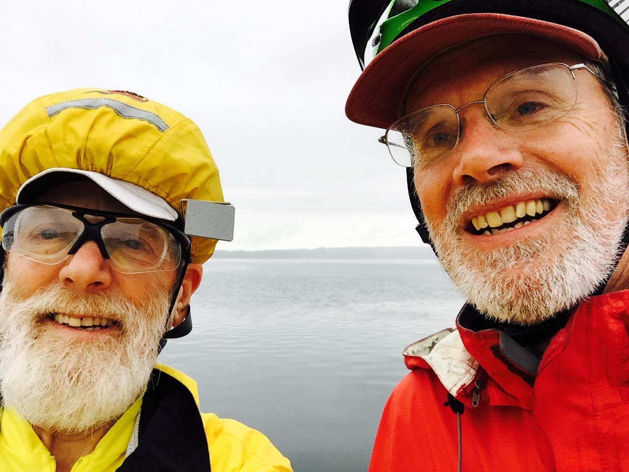 With John on the bridge.