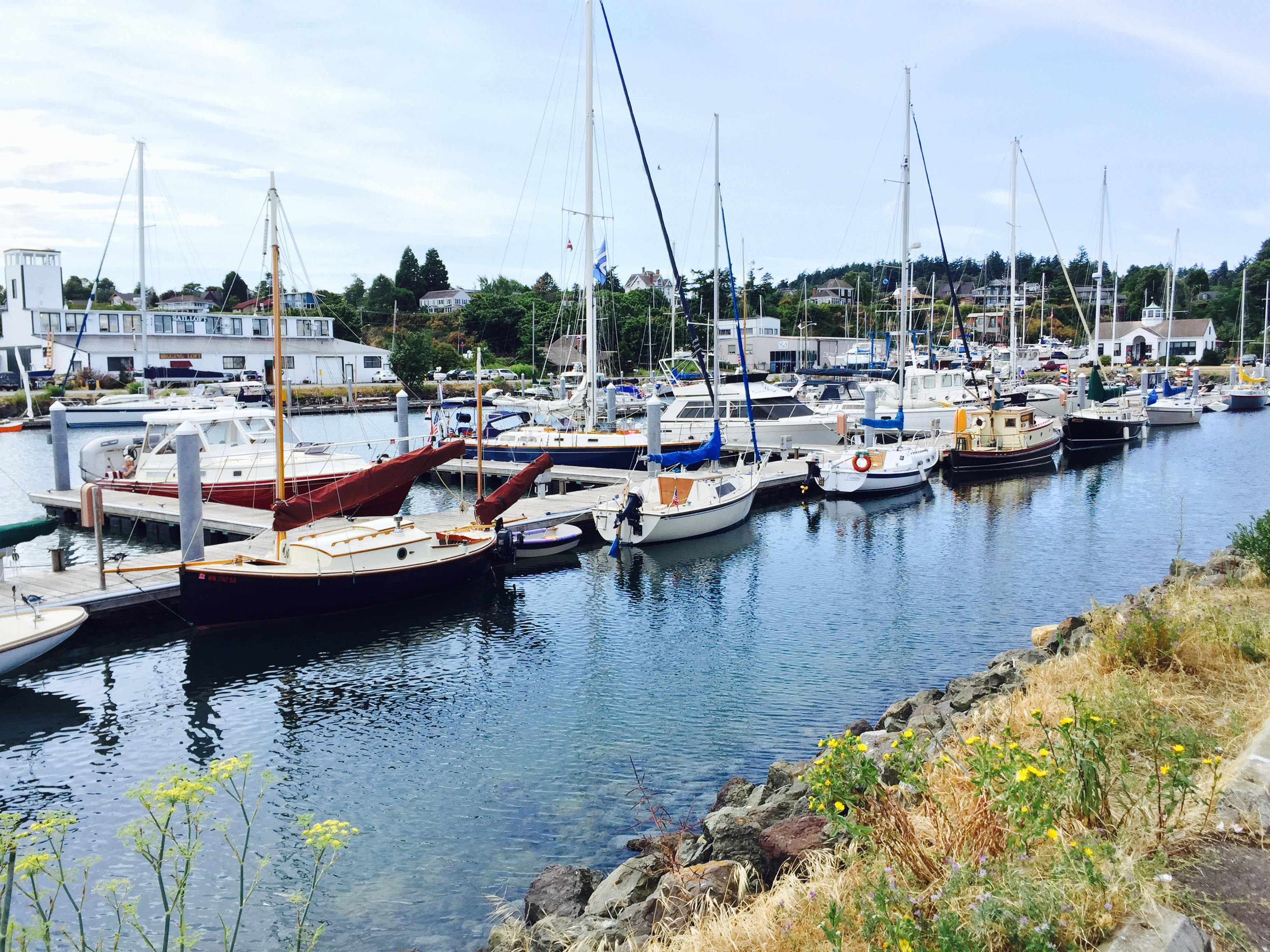 Some boats at port Townsend
