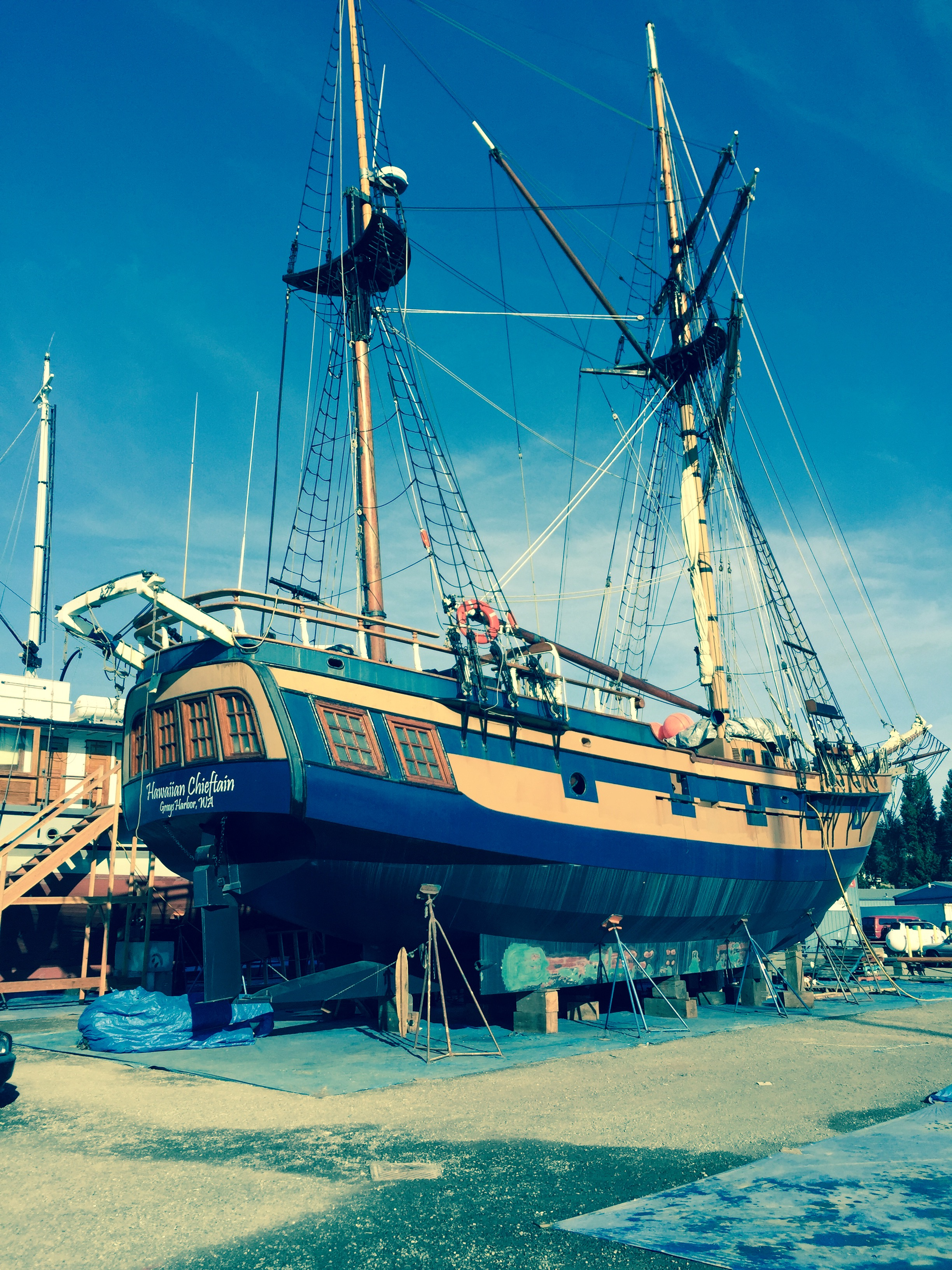 Pirate ship at Port Townsend