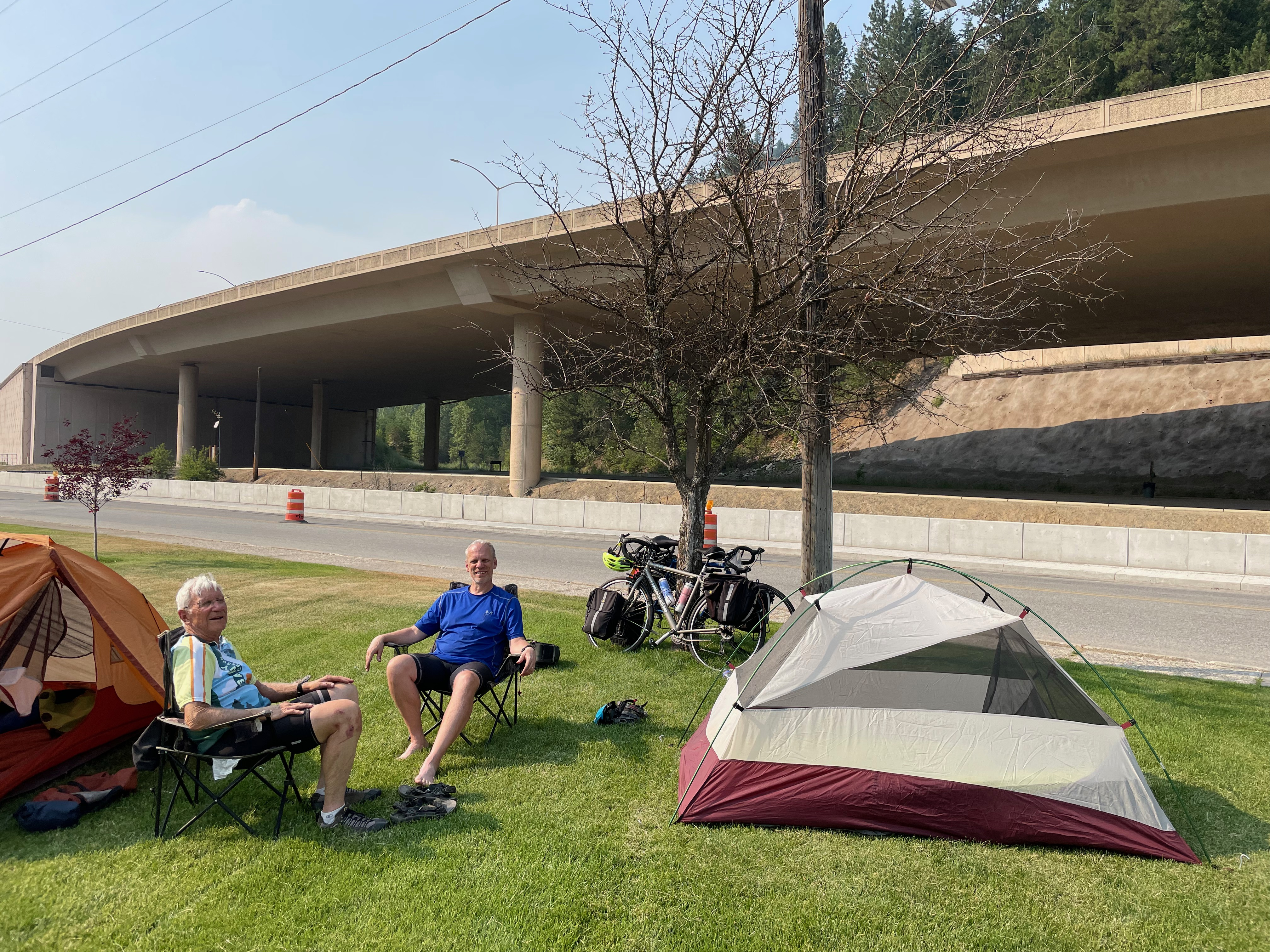 Deluxe camping in Wallace