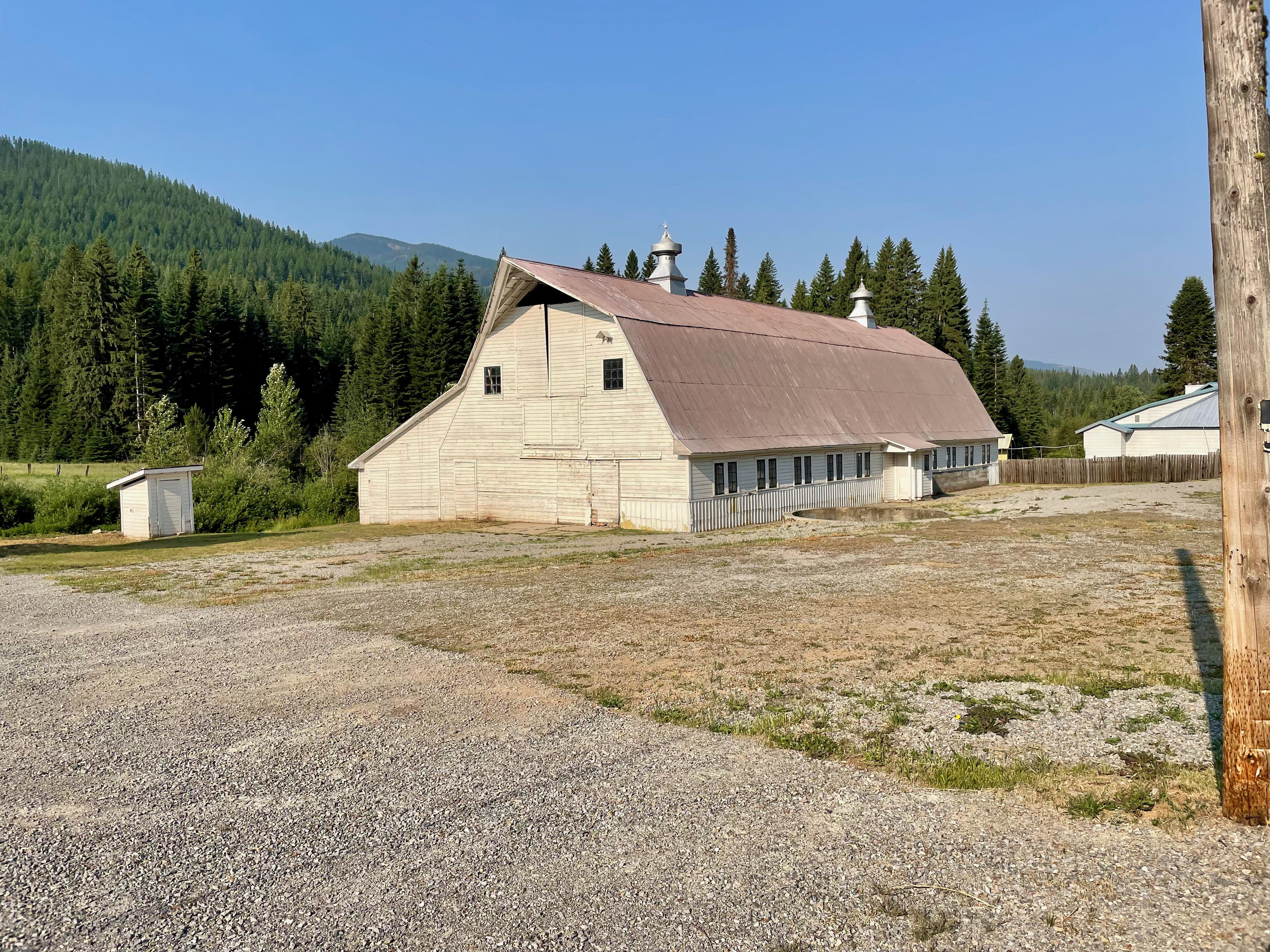 Old dairy barn