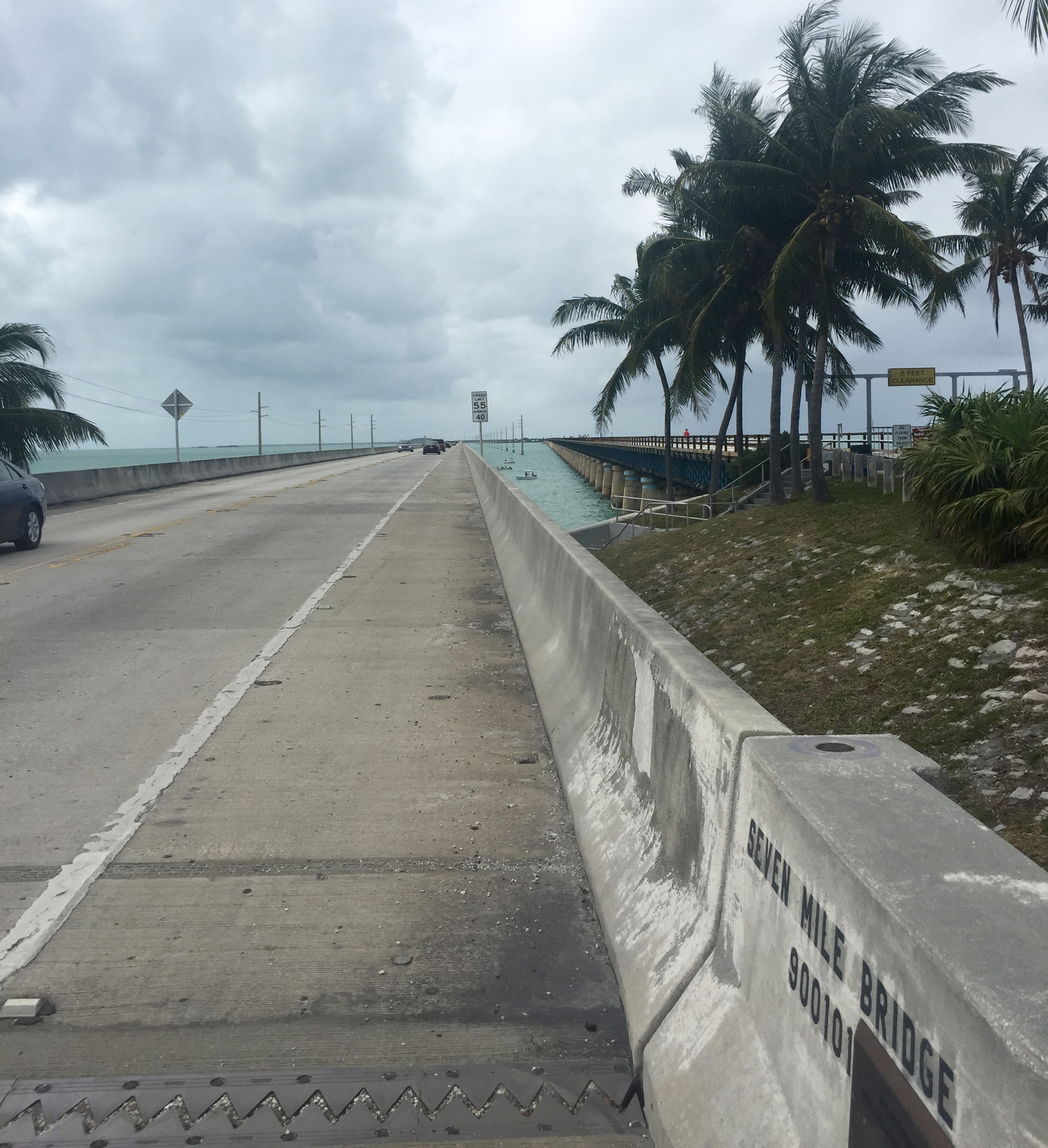 Starting out Seven Mile Bridge