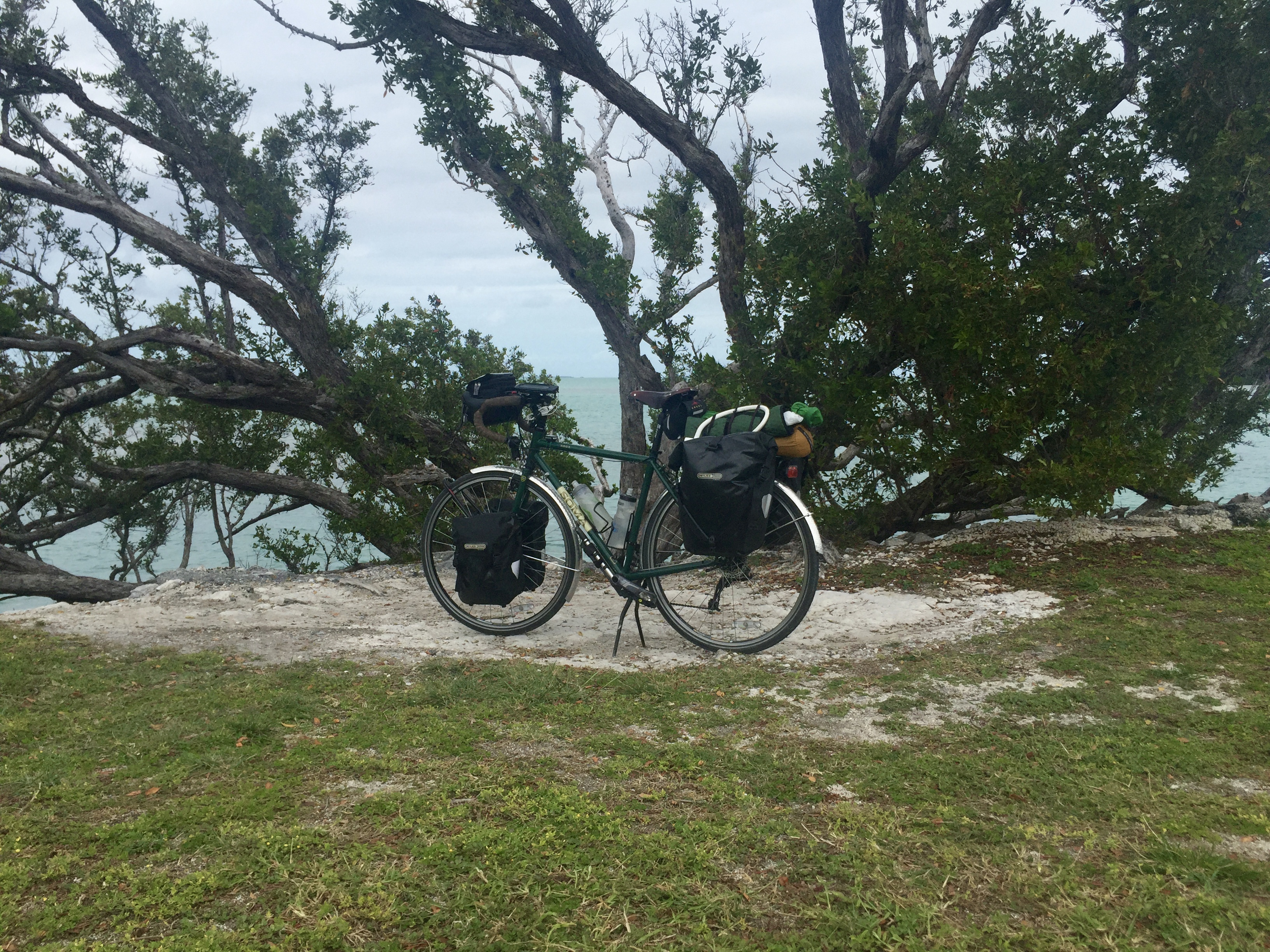 Bike by the Gulf of Mexico