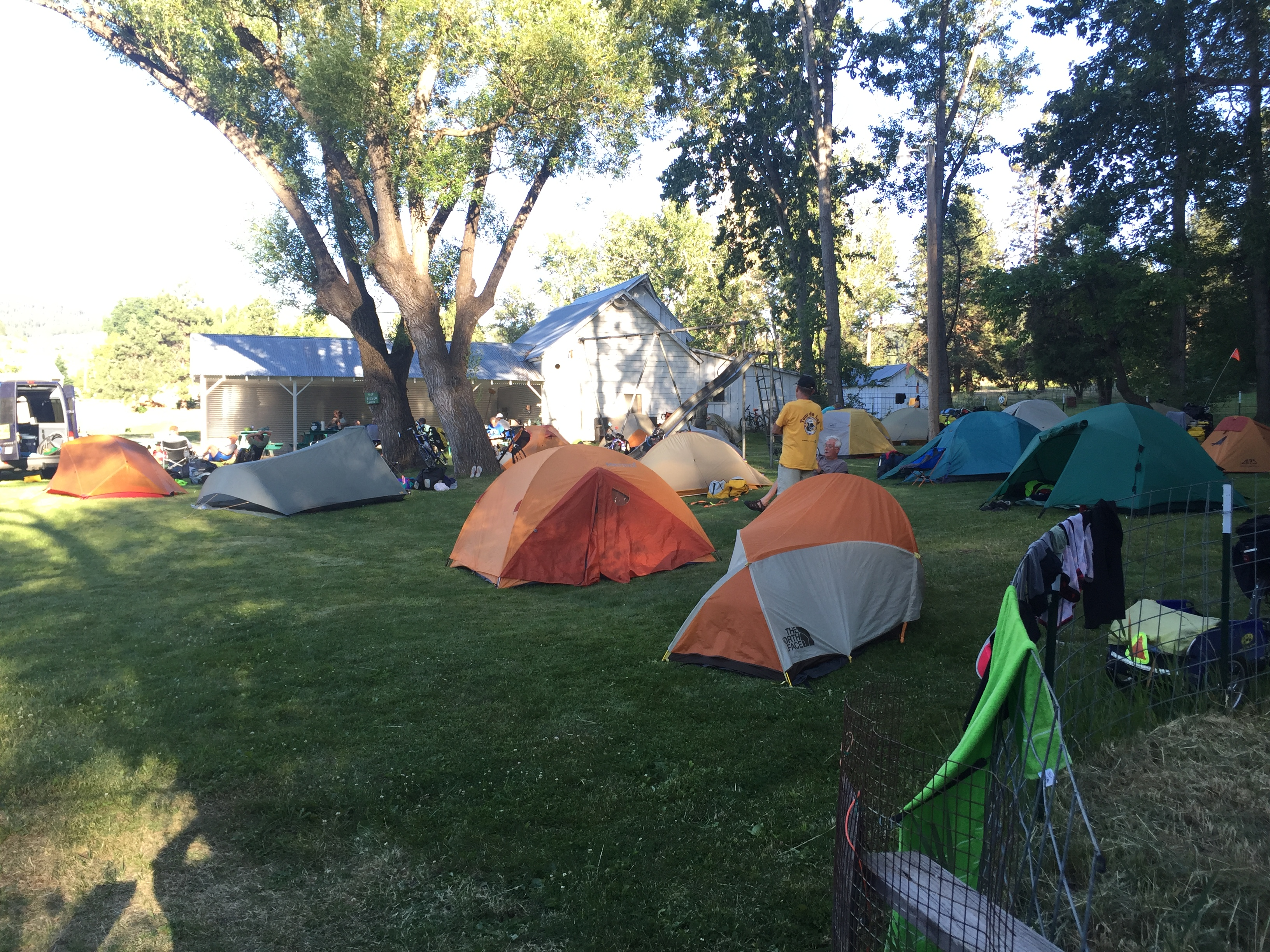 Camping at Cove Warm Springs