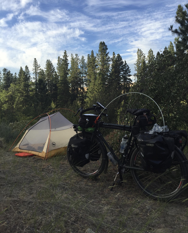 Camping along the John Wayne Trail