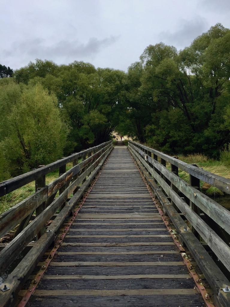 Unimproved bridge
