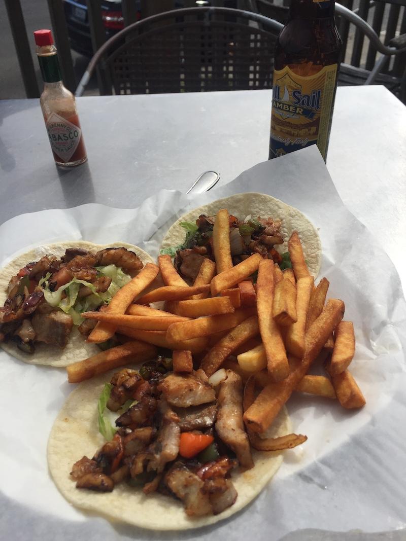 $9 fish tacos