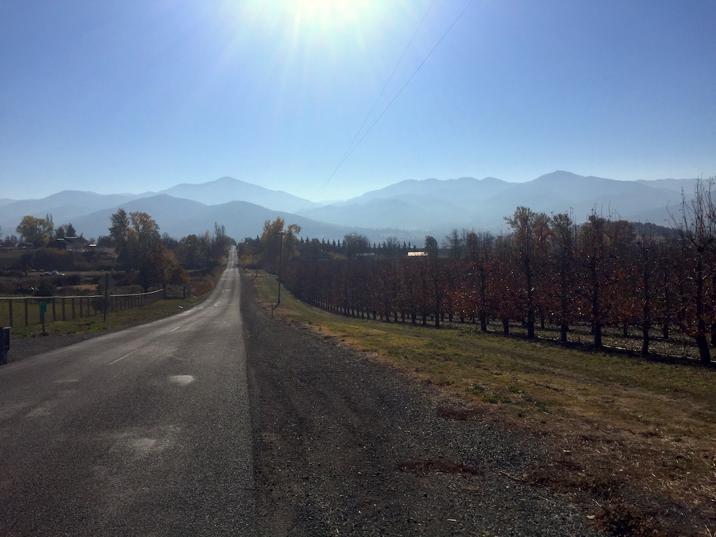 From the orchards to the mountains