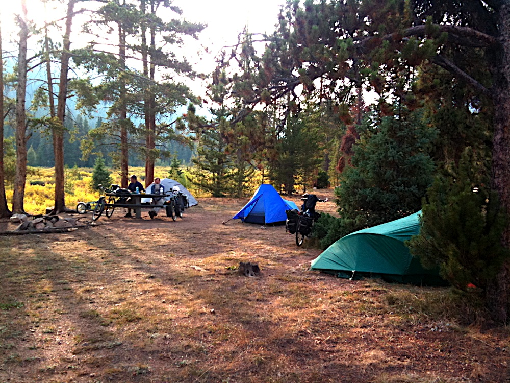 May Queen campground