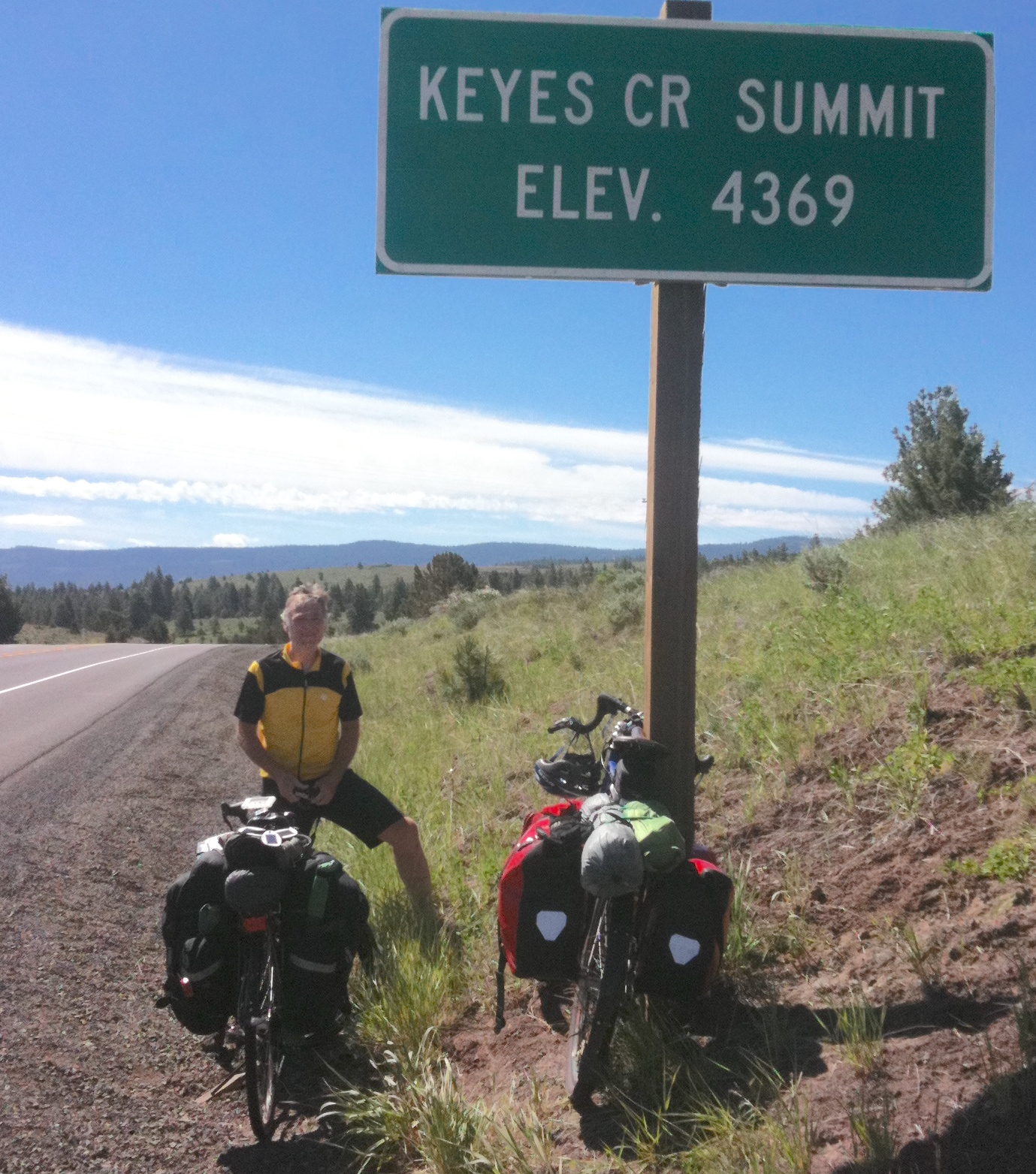 Keyes Creek Summit