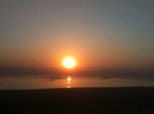 Another great sunset on the Oregon Coast.