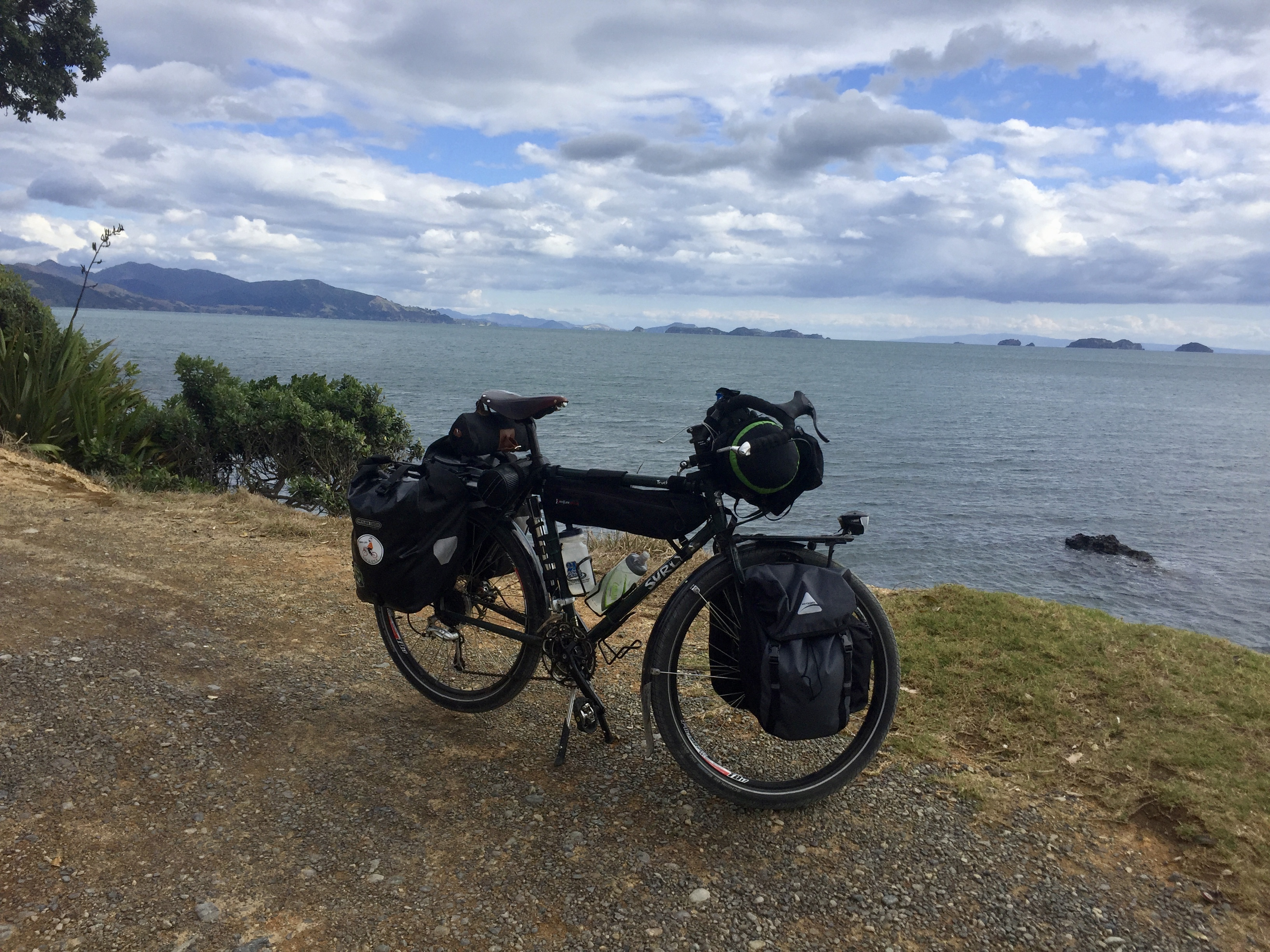 Nice ride by Hauraki Gulf
