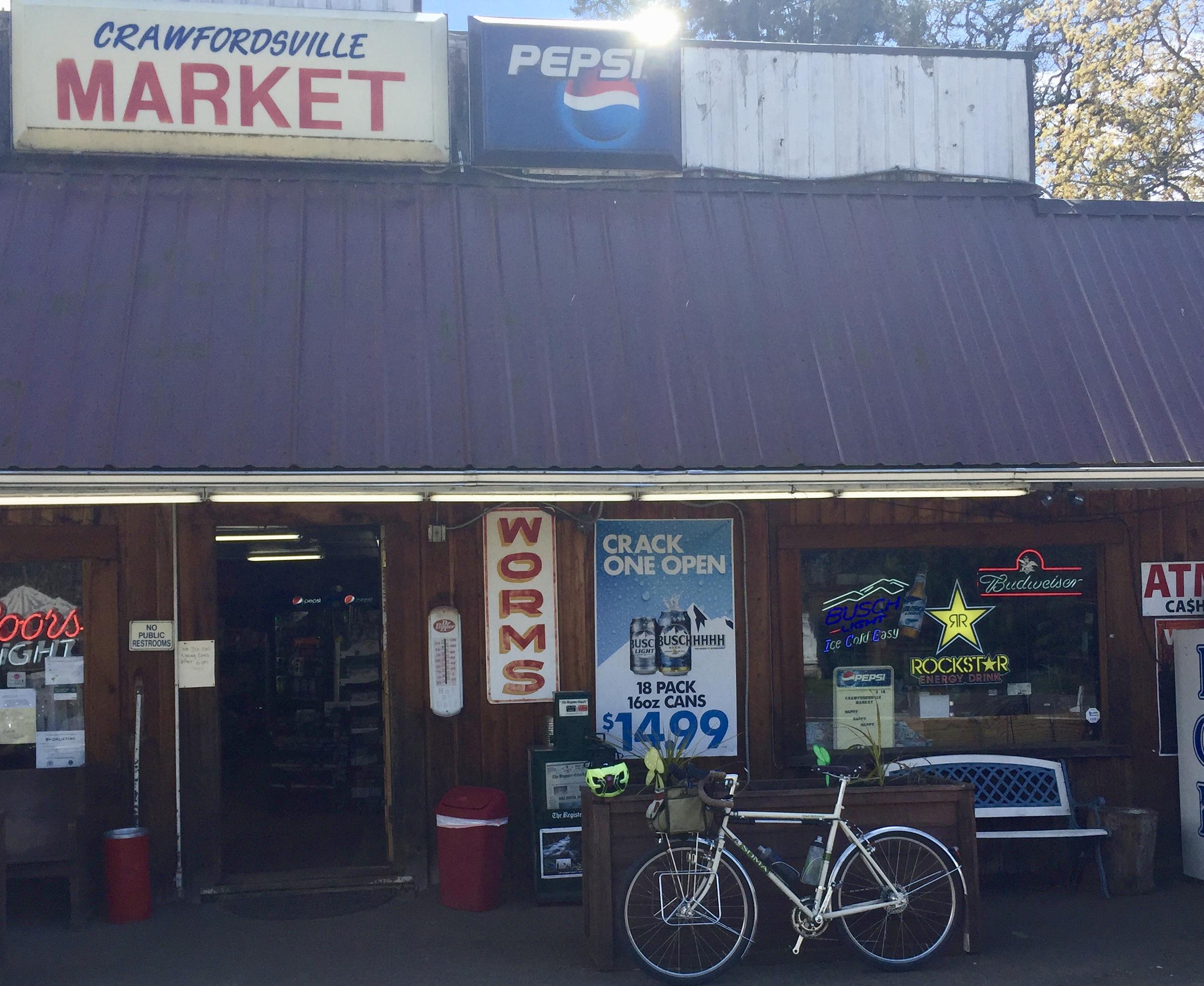 Crawfordsville store