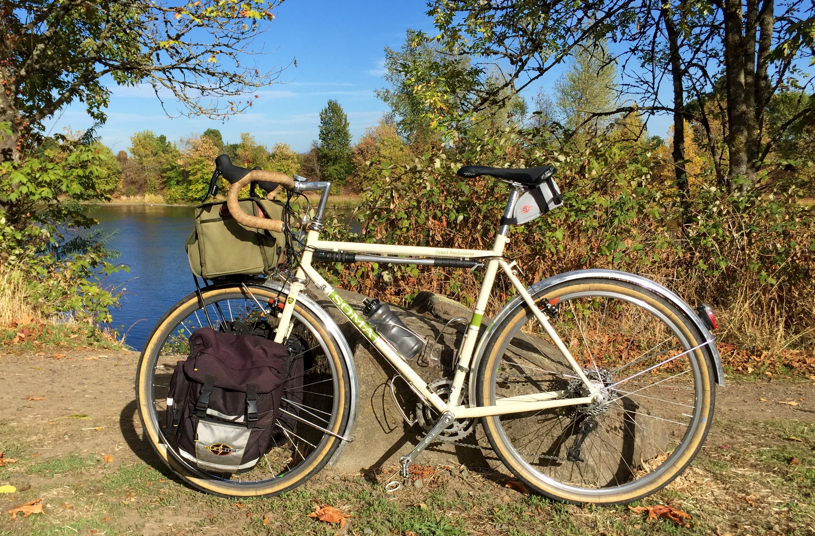 Panniers on the Grando