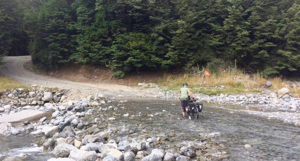 Fording another river.