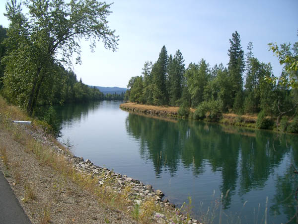 The Coeur D'Alene River